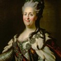 Catherine the Great by Johann Baptist von Lampi