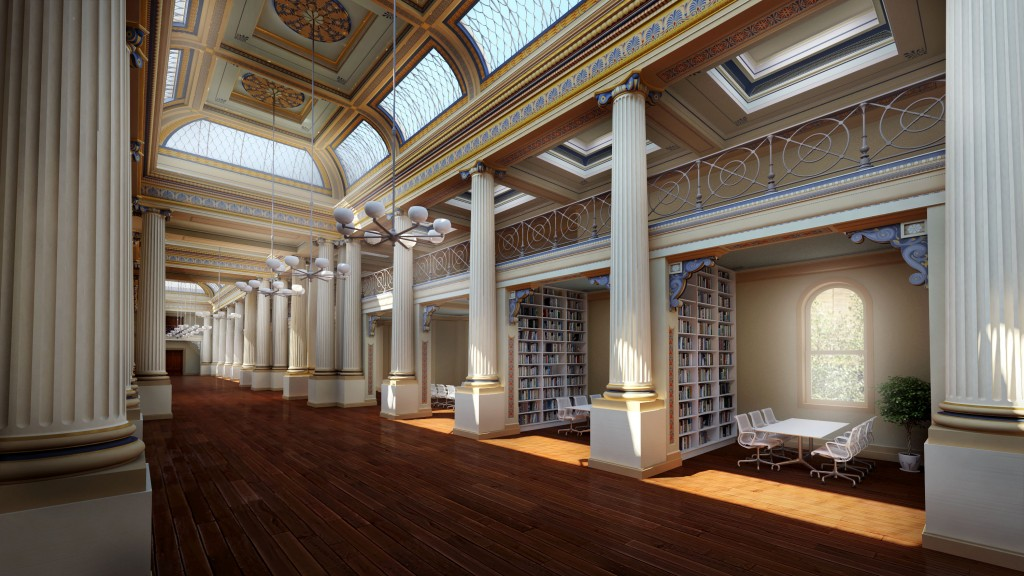 State Library Victoria, Queen's Hall, Artist Impression