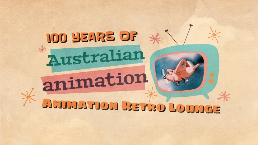 Promotional image for the Retro Animation Lounge