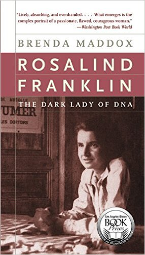 Front cover image of Rosalind Franklin's book