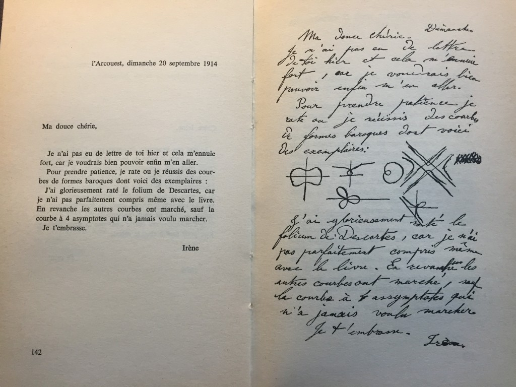 Detail of Curie Correspondence