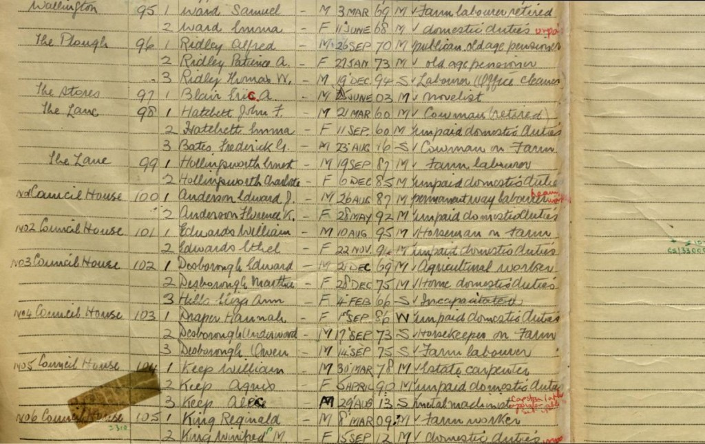 The 1939 register – now available through FindMyPast UK