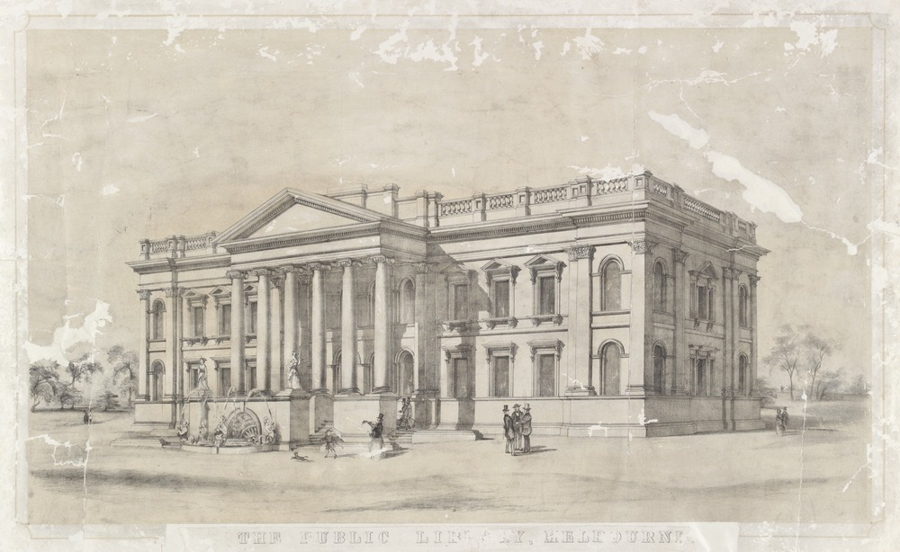State Library Victoria: open for 160 years