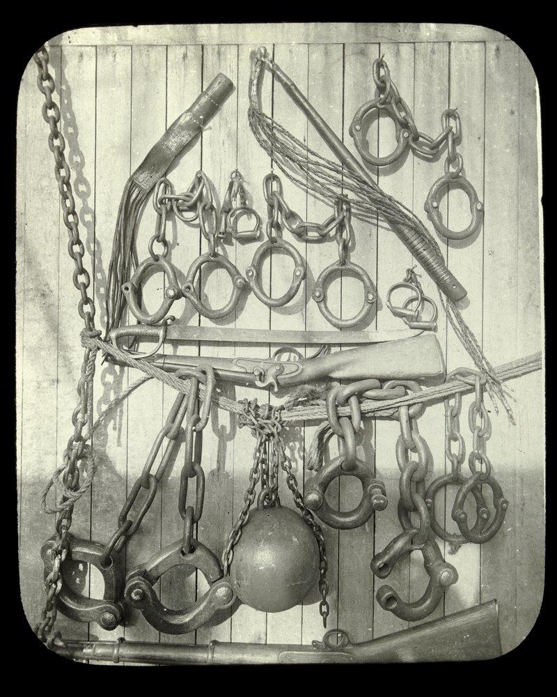 Relics of convict discipline