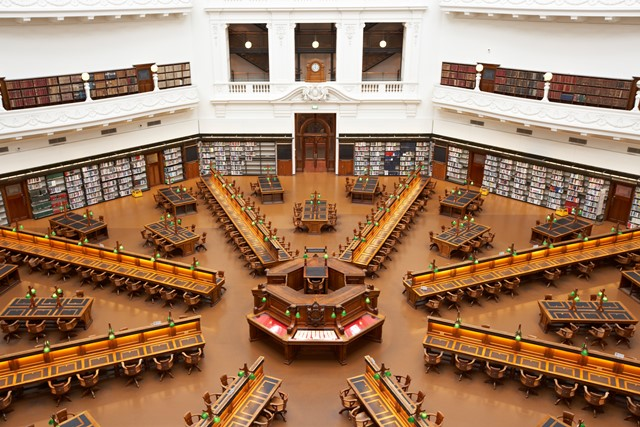 Image of the La Trobe Reading Room