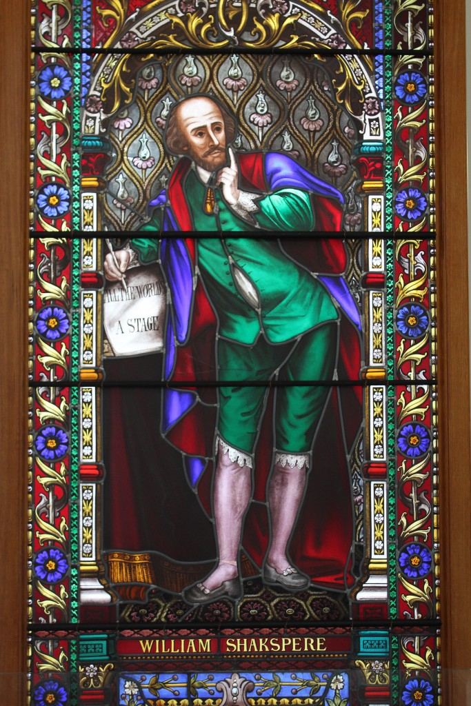 Image of the Shakespeare Window