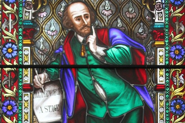 Shakespeare Window detail