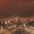 Black Thursday, February 6th, 1851   1864 oil on canvas; 106.5 x 343 cm State Library of Victoria