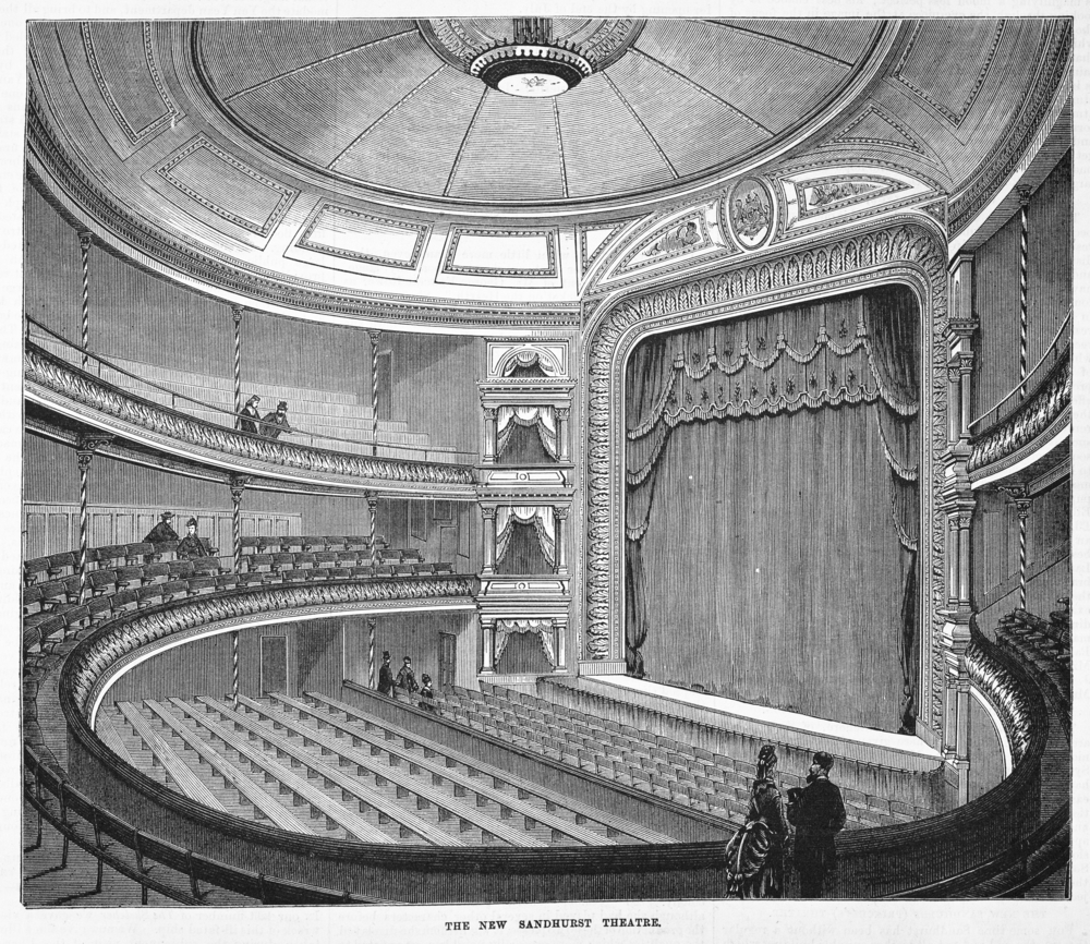 Image of the interior of the Princess's Theatre, Bendigo