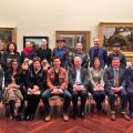 The 2016 Fellows pictured in the Cowen Gallery
