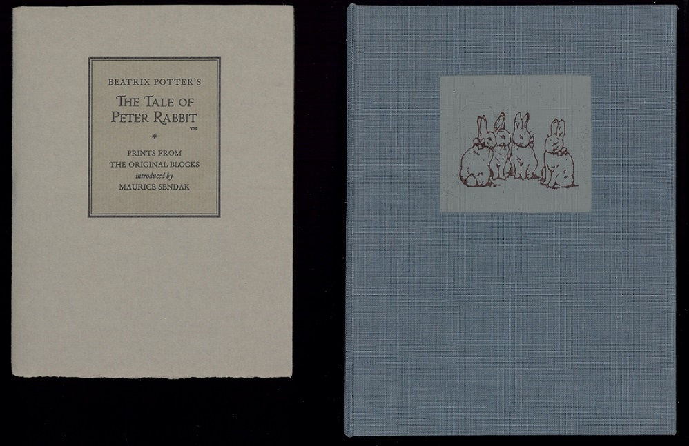 Peter Rabbit original prints by Beatrix Potter
