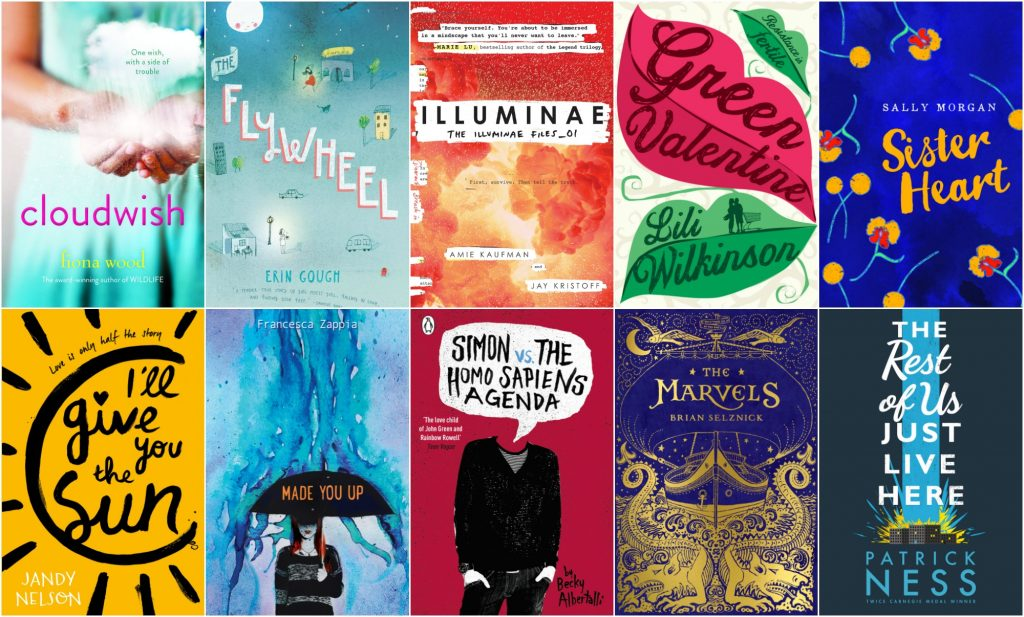 The 2016 Inky Awards shortlist covers
