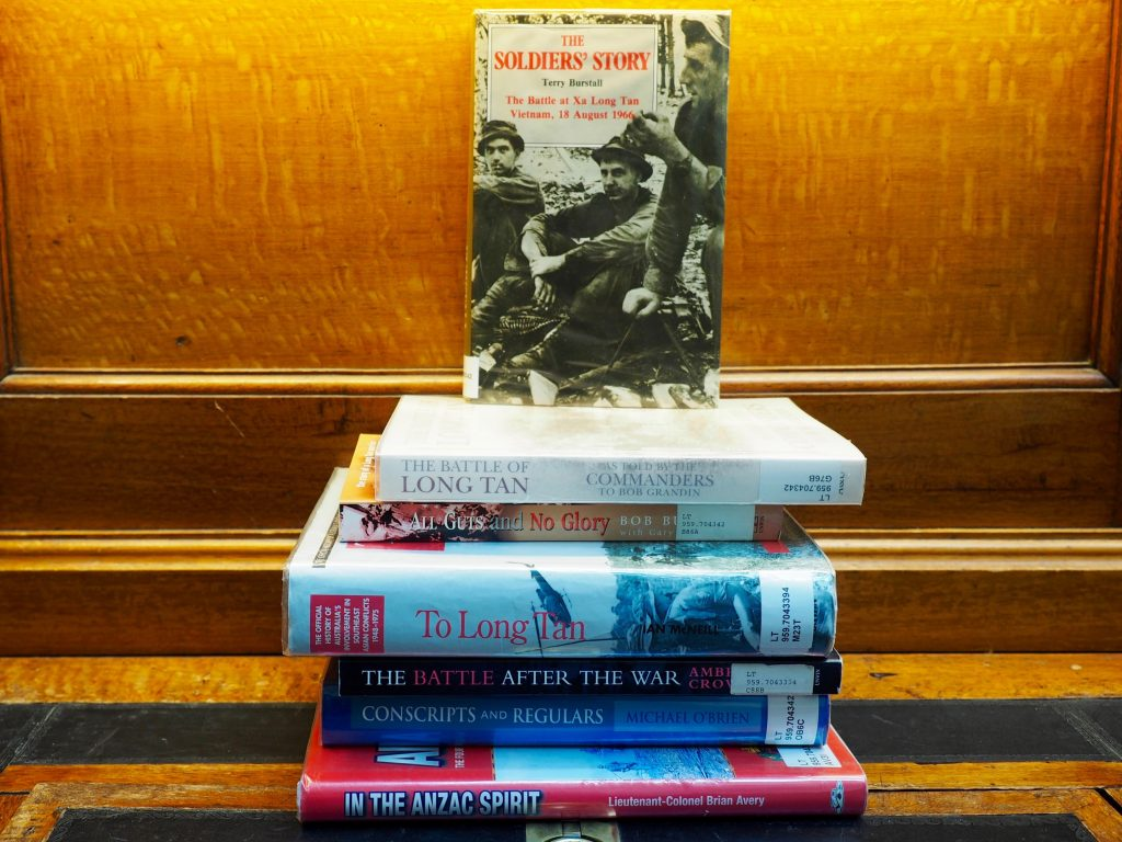 Books about the Battle of Long Tan