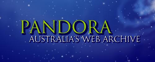 Pandora: Australia's web archive