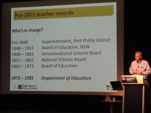 Good morning boys and girls: a guide to finding teacher records at PROV