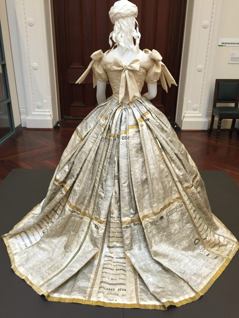 State Library Victoria 150 Years Of The Press Dress