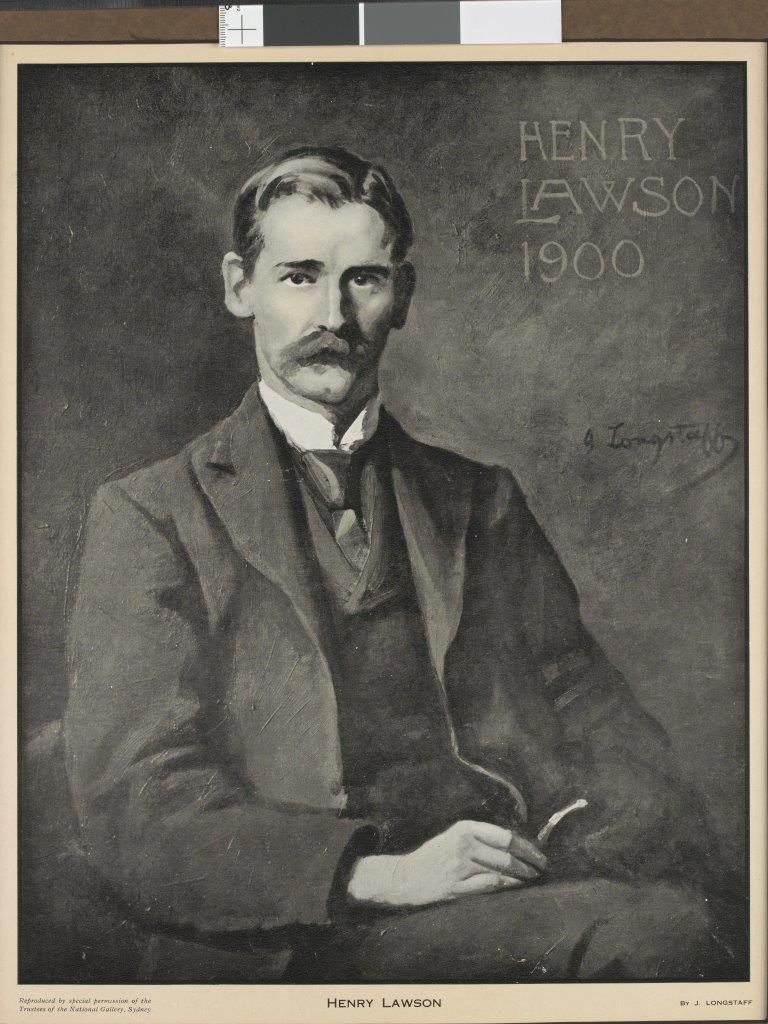 Portrait of Henry Lawson