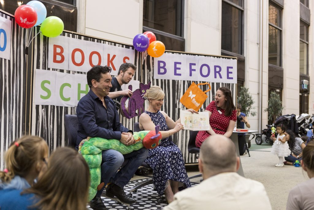 1000 Books Before School - launched at the State Library of Victoria. Photo Teagan Glenane
