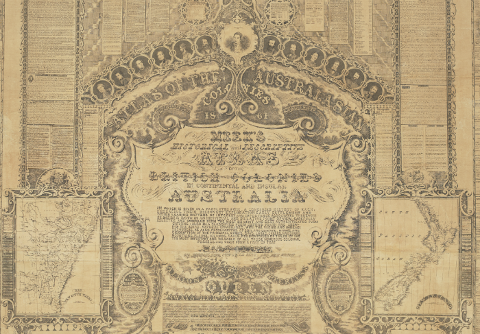 Atlas of the Australasian colonies