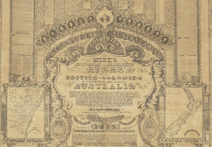 Atlas of the Australasian colonies