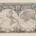 Nova et accvratissima totivs terrarvm orbis tabvla by Joan Blaeu, 1664