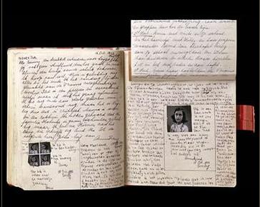 Anne's diary.