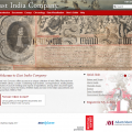 New database about the East India Company