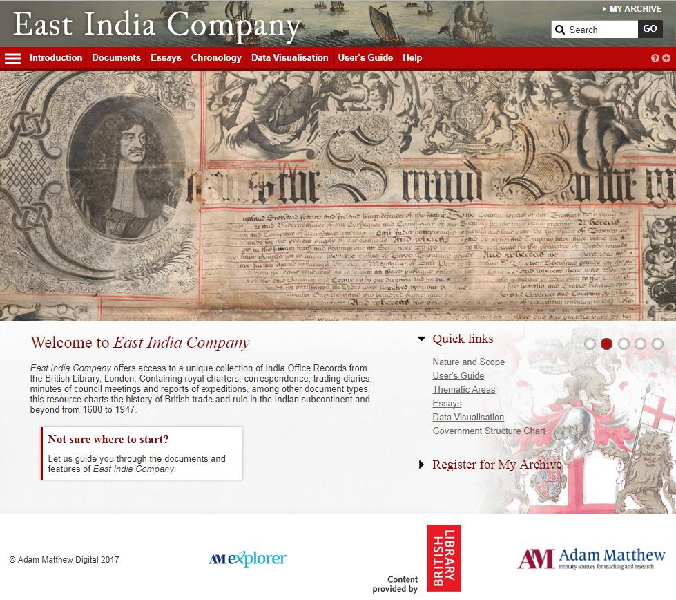 East India Trading Company Furniture