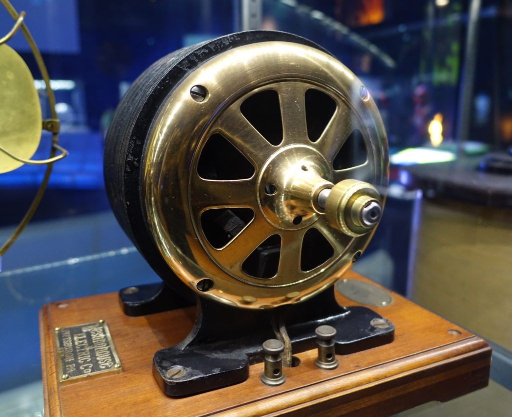 A M7 Standard Tesla AC Motor, Westinghouse Electric Co.