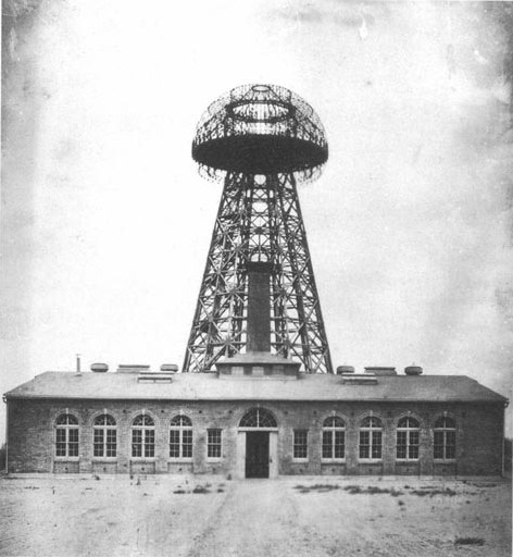 Tesla's Wardenclyffe Tower.