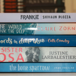 The books shortlisted for the Gold Inky award