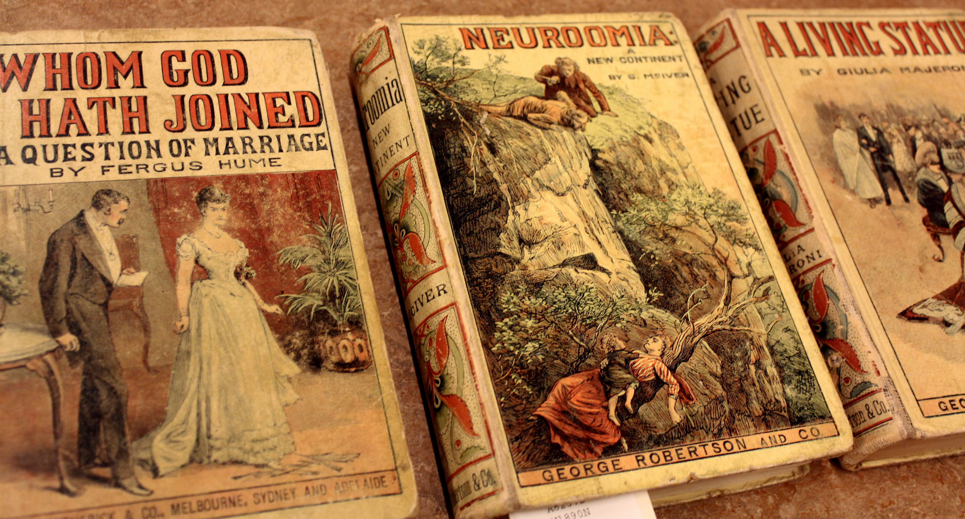 Three books from the 1890s.