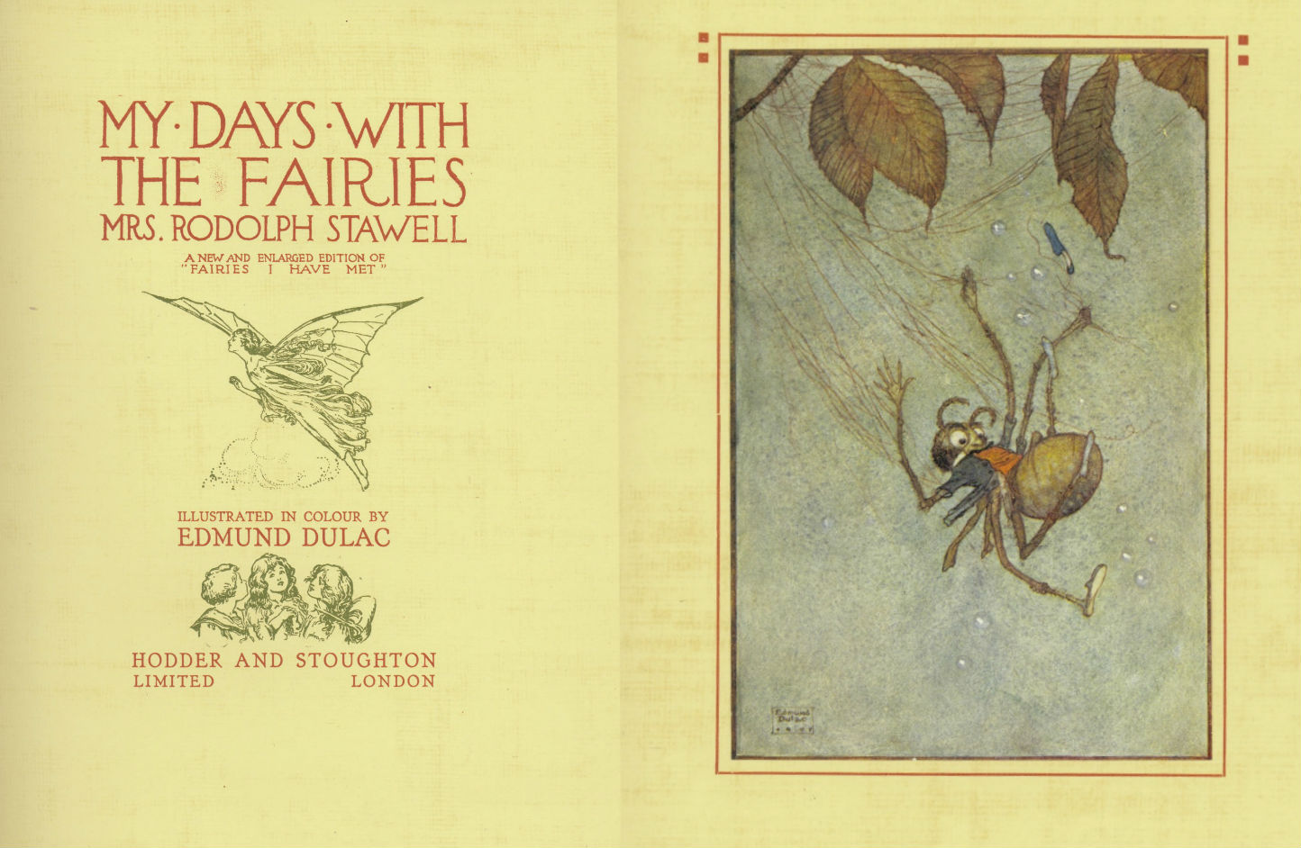 My-Days-with-the-Fairies cover and image