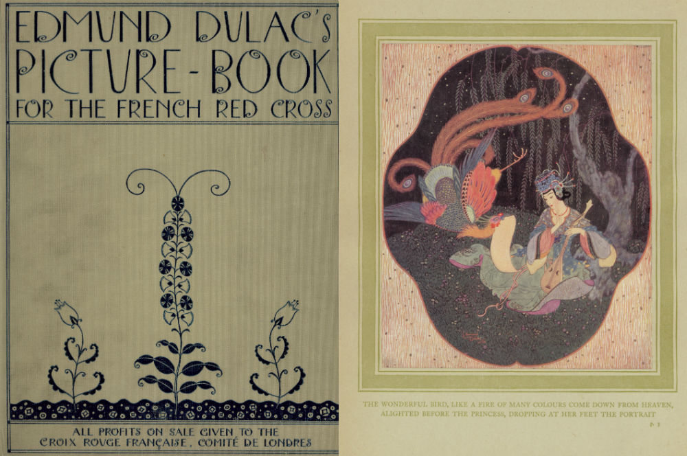 Cover and page from Red Cross