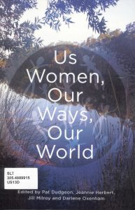 Cover, Us women, our ways, our world , 2016