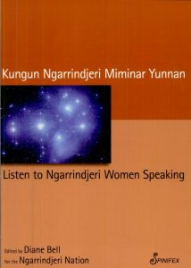 Book cover: Listen to Ngarrindjeri Women Speaking