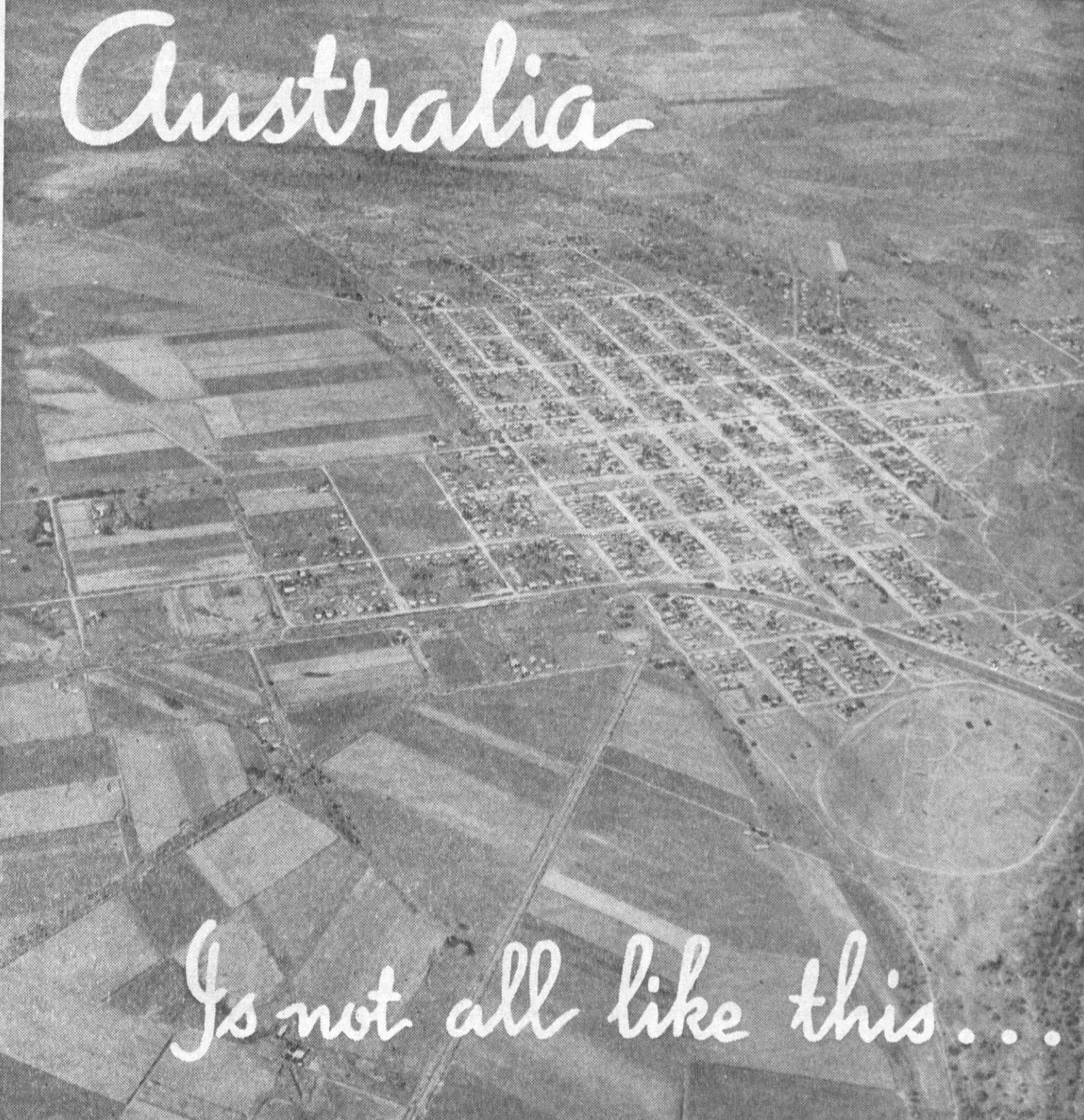 aerial shot of agricultural land