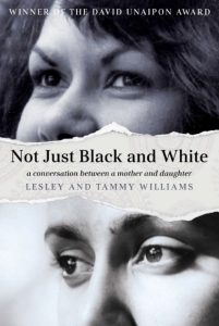 Book cover: Not just black and white