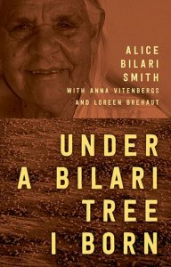 Book cover: Under a Bilari tree I born