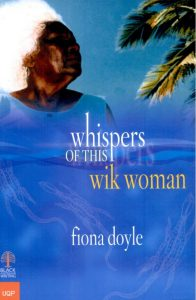 Book cover: Whispers of this wik woman