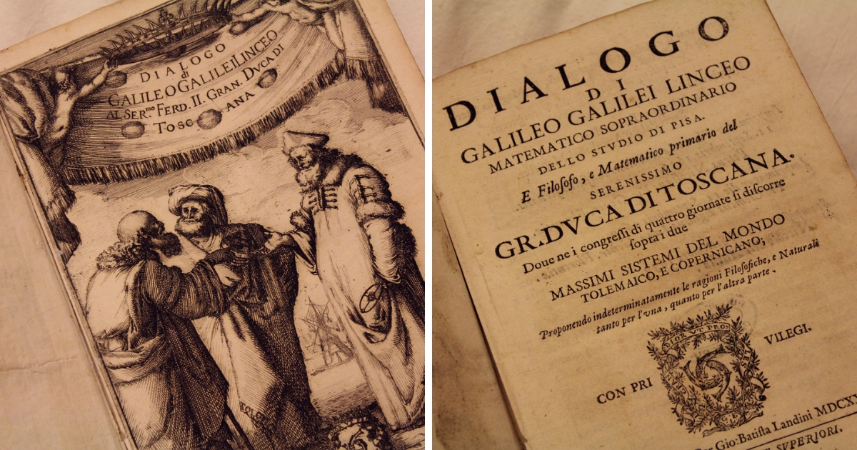 pages of Galileo's Dialogo