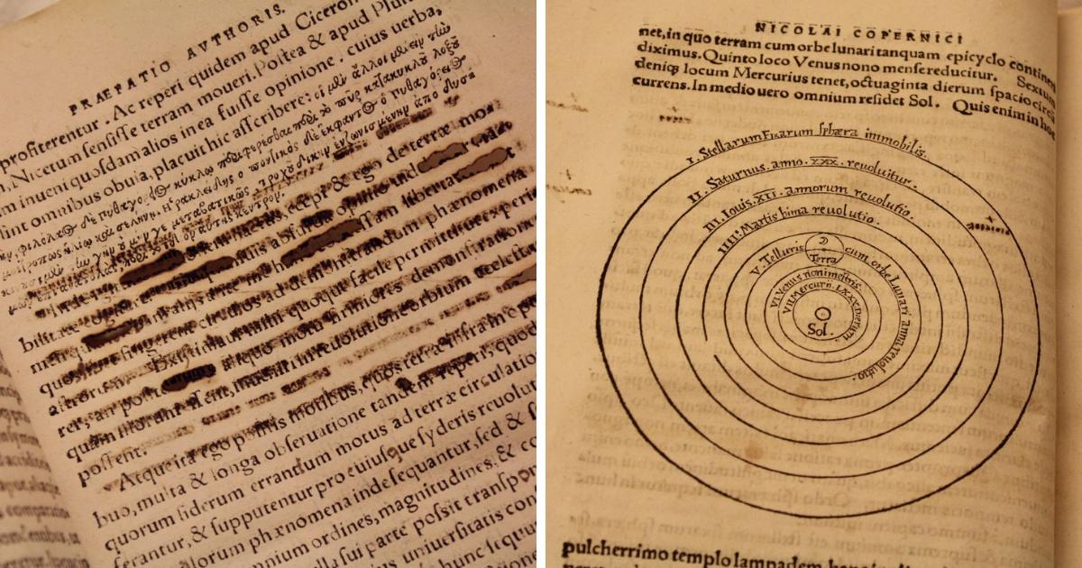 Pages from De reuolutionibus orbium coelestium