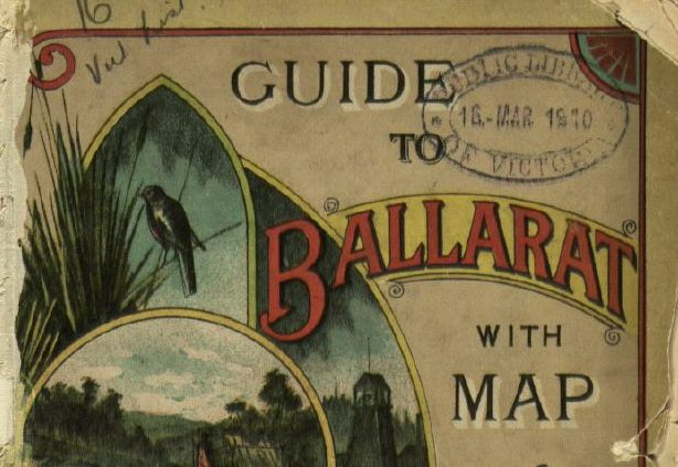 Cover of a tourist guide to Ballarat
