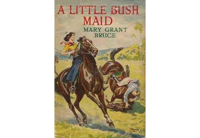 Cover of A little bush maid