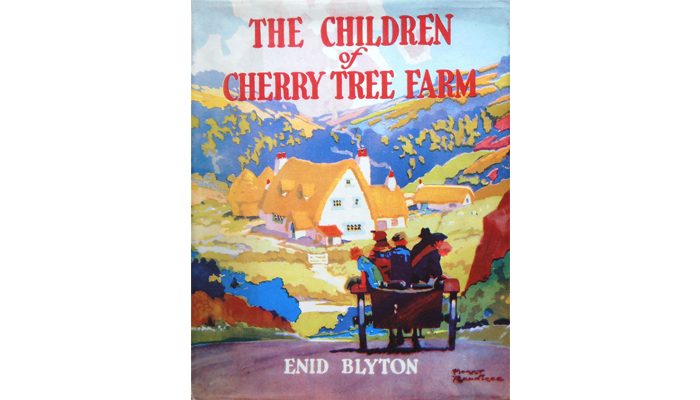 Cover of The children of Cherry Tree Farm
