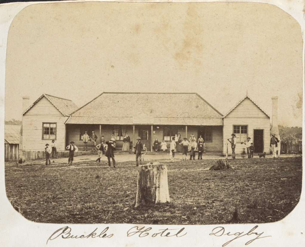 Buckle's Hotel, Digby, circa 1859