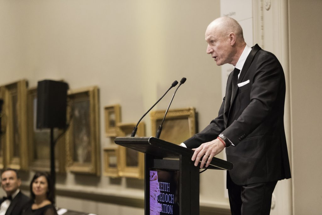Robert Thomson gives the Keith Murdoch Oration