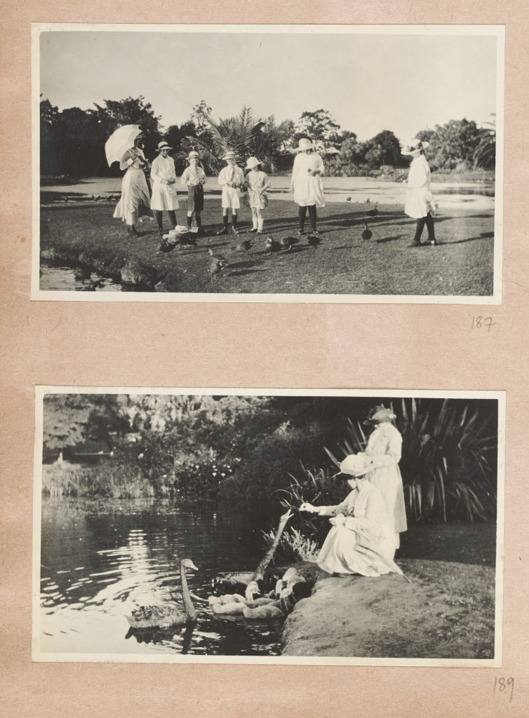 Photograph album relating to the Stringer family and friends, 1917-1933, compiled by Reg Stringer.
