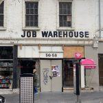 Job Warehouse building facade