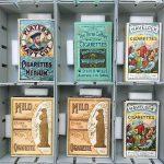 vintage cigarette packets